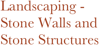 Landscaping -